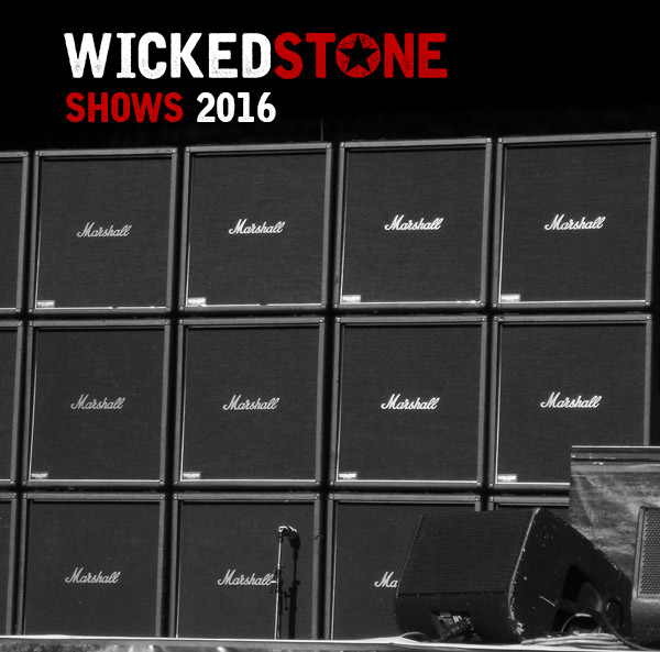 Wicked Stone Gigs and Shows- UK Hard Rock, Southern Metal, best rock band 2016